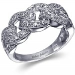 Right Hand Diamond Band 0.20 ct.tw